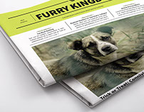 Furry Kingdom Newspaper Template