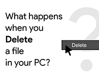 What Happens when you delete a file in your pc?