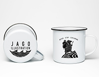 Etched Enamel Mug Designs