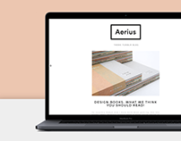 Aerius - Theme Tumblr Blog