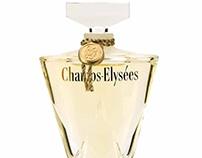 Champs-Elysées by Guerlain. Logo design.