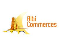 Albi commerces logo