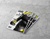 Freeletics Fitness Magazine | Publication Design