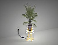 Pot Lamp