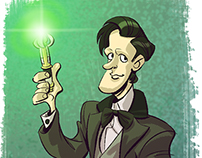 Doctor Who Cartoonized