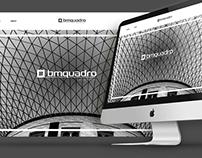 bmquadro Architets - logo restyle & website