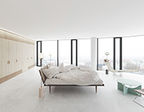 MINIMALIST APARTMENT VISUALISATION