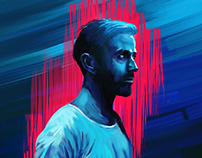 Alternative movie poster - Only God Forgives D painting