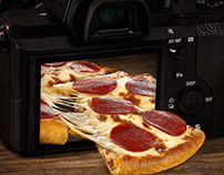 Pizza Hut- Replate Waste photography