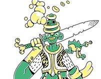 Green shaman