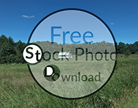 Free Photo Download - Barn in Field