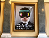 SPACE MAKER - PETR PÍSAŘÍK - RUDOLFINUM GALLERY VISUAL