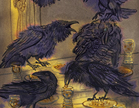 """The Seven Ravens"" fairy tale"