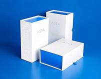 ASEA Welcome Kit Packaging & Collateral
