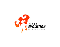First Evolution Fitness Club | Logotype