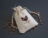 Black Cat Coffee Identity
