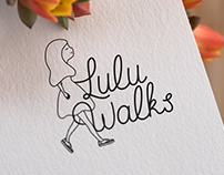 Logo pour Lulu Walks