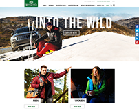 Woodland Brand Website