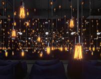 Multiplication of light 3d Visual