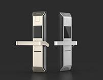 Smart lock industrial design