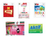7-Eleven graphic & web design