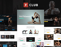 FightClub - Mma Bodybuilding Fitness & Yoga WP Theme