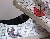I Pink Floyd I Hand Painted Shoes I
