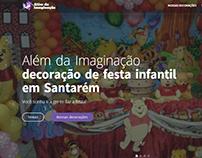 Wordpress website: Além da Imaginação