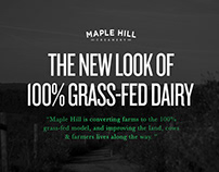 Maple Hill Creamery - 100% Grass-Fed