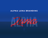 Alpha Luna Branding
