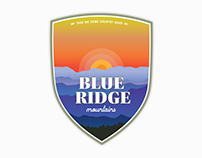 Blue Ridge Mountains Badge