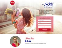 Hairstudio Salon Landing Page