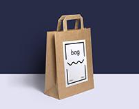 """Free Paper """"Bag"""" Mockup"""