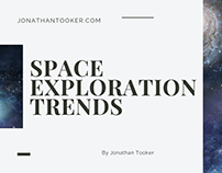 Space Exploration Trends by Jonathan Tooker