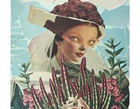 Handmade collage / Colagem sobre papel