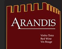 Rótulos Vinho Arandis