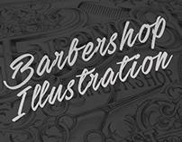 Barbershop Type Illustration