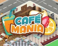 Items & Characters for CafeMania - 2011