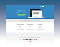 AlumniPress Landing Page