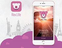 UI/UX Rex.Life Mobile App
