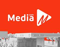 Brand identity «Mediacom»