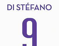Alfredo Di Stéfano Real Madrid Printing