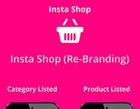 Insta Shop - Re- Branding