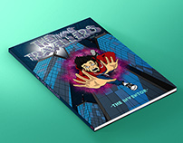 The Time Travellers(Comic book Cover)