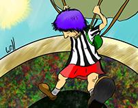 Caindo de paraquedas
