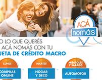 POP Beneficios - Banco Macro