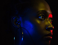 Photography: Dark shots for Netvision Editorial