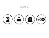 Curio Seattle  - Icon Design