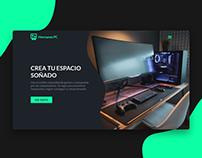 Hermanos PC - website
