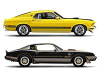 Stock Vehicle Illustrations, portfolio 1